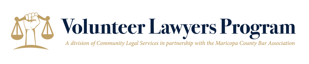 Volunteer Lawyers Program logo