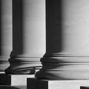 Court building columns