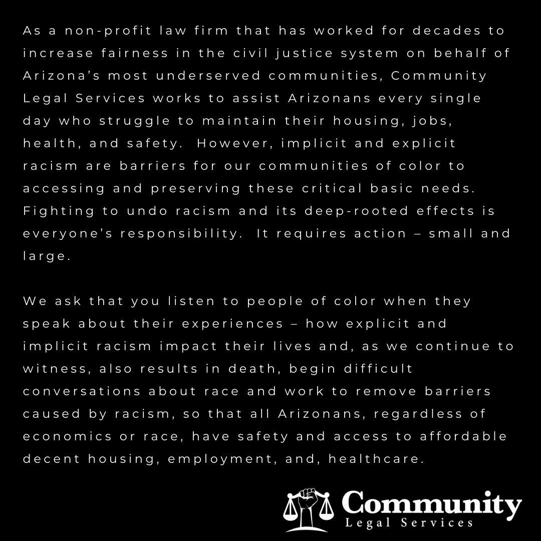 CLS Black Lives Matter statement